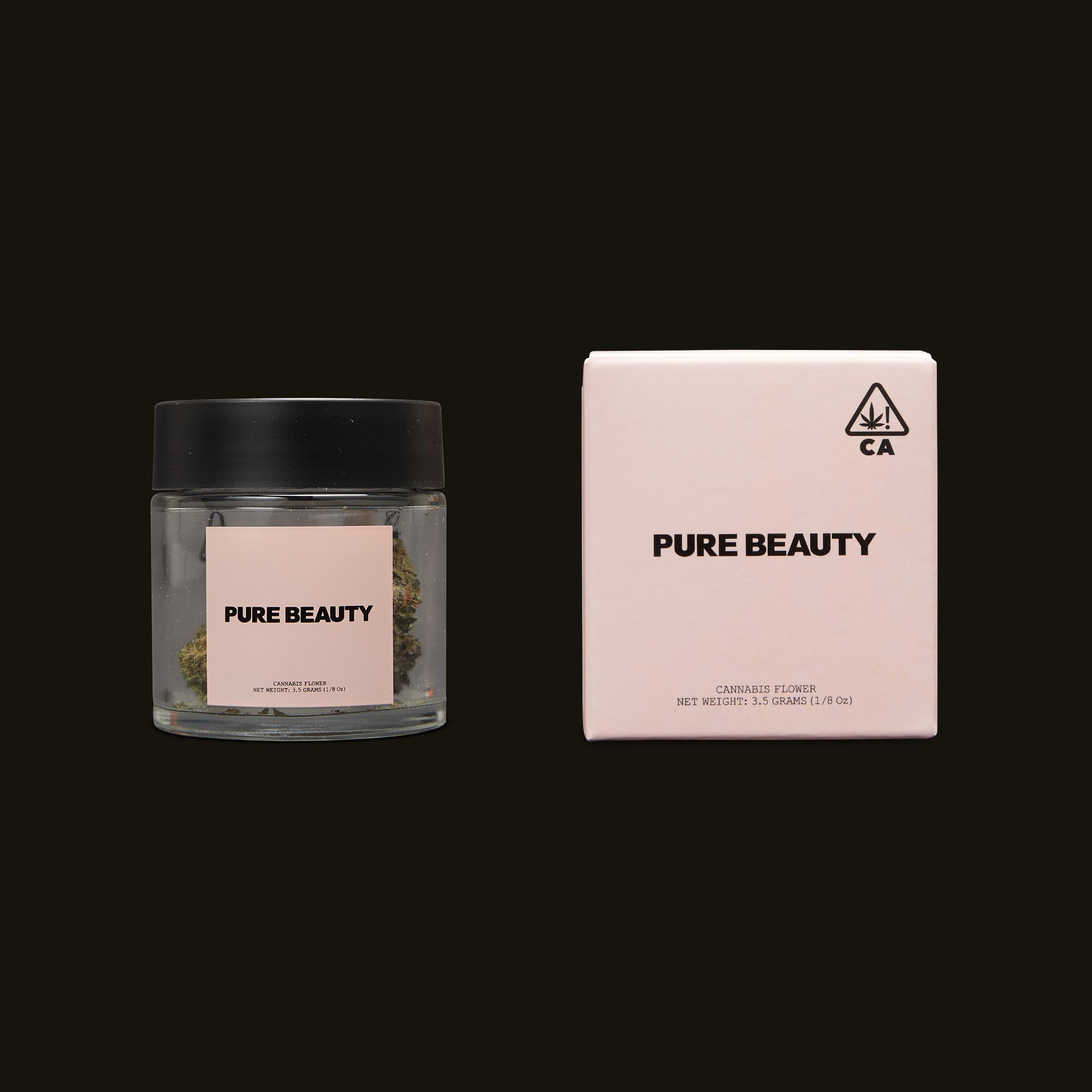 Pure Beauty Sea Star Jar and Packaging