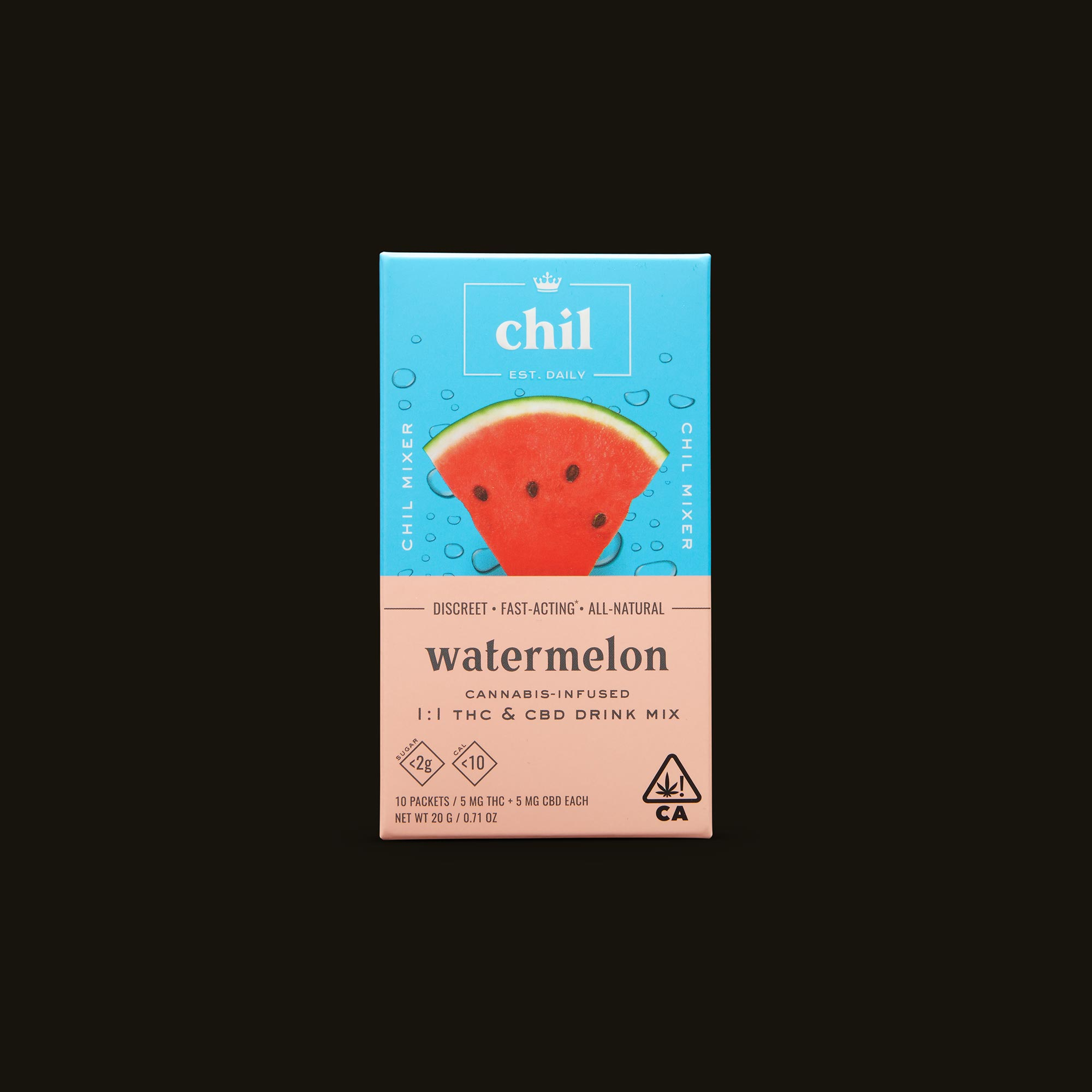 Chil Watermelon 1:1 Mixer Front Box