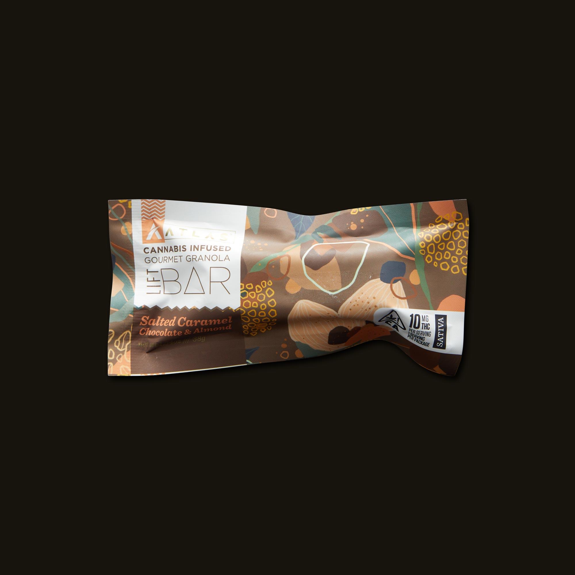 Atlas Edibles Lift Granola Bar Front Packaging