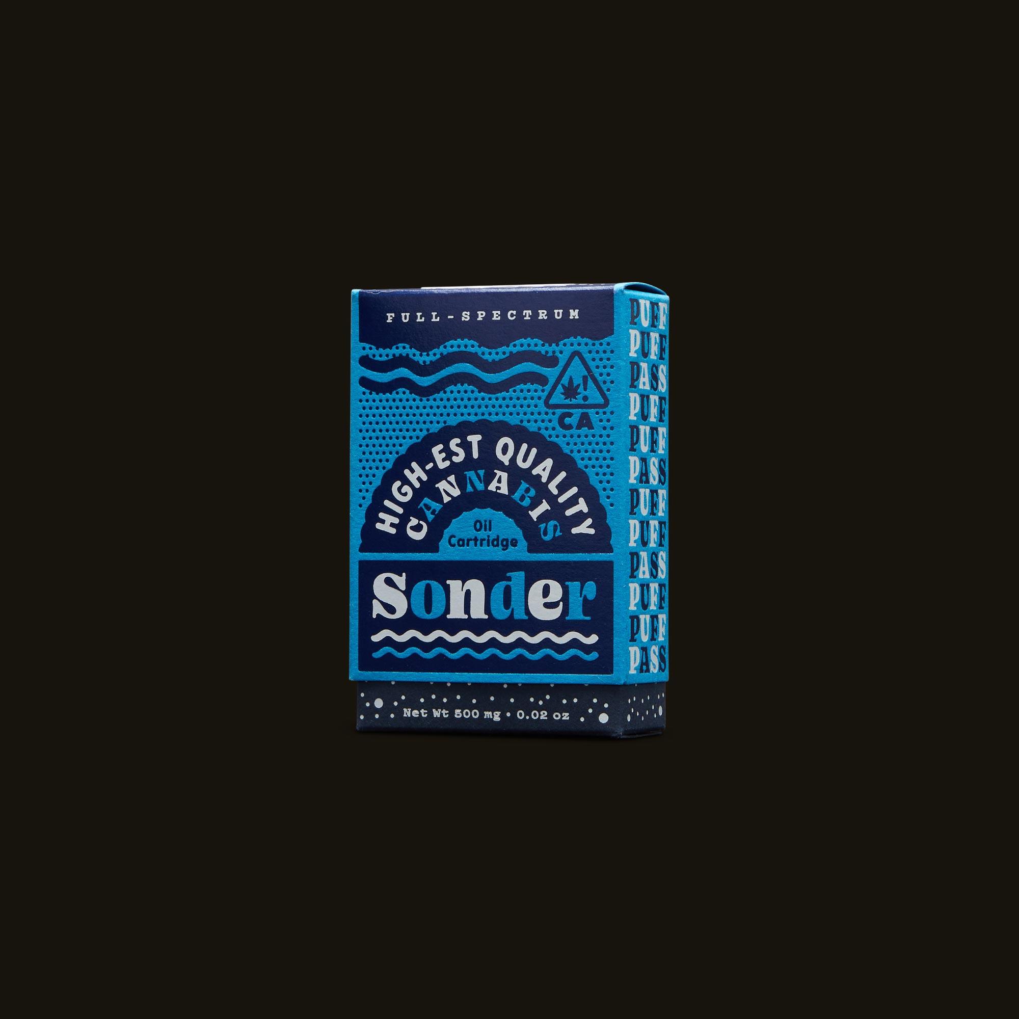 Sonder Vape Pen - Blue Dream Cartridge