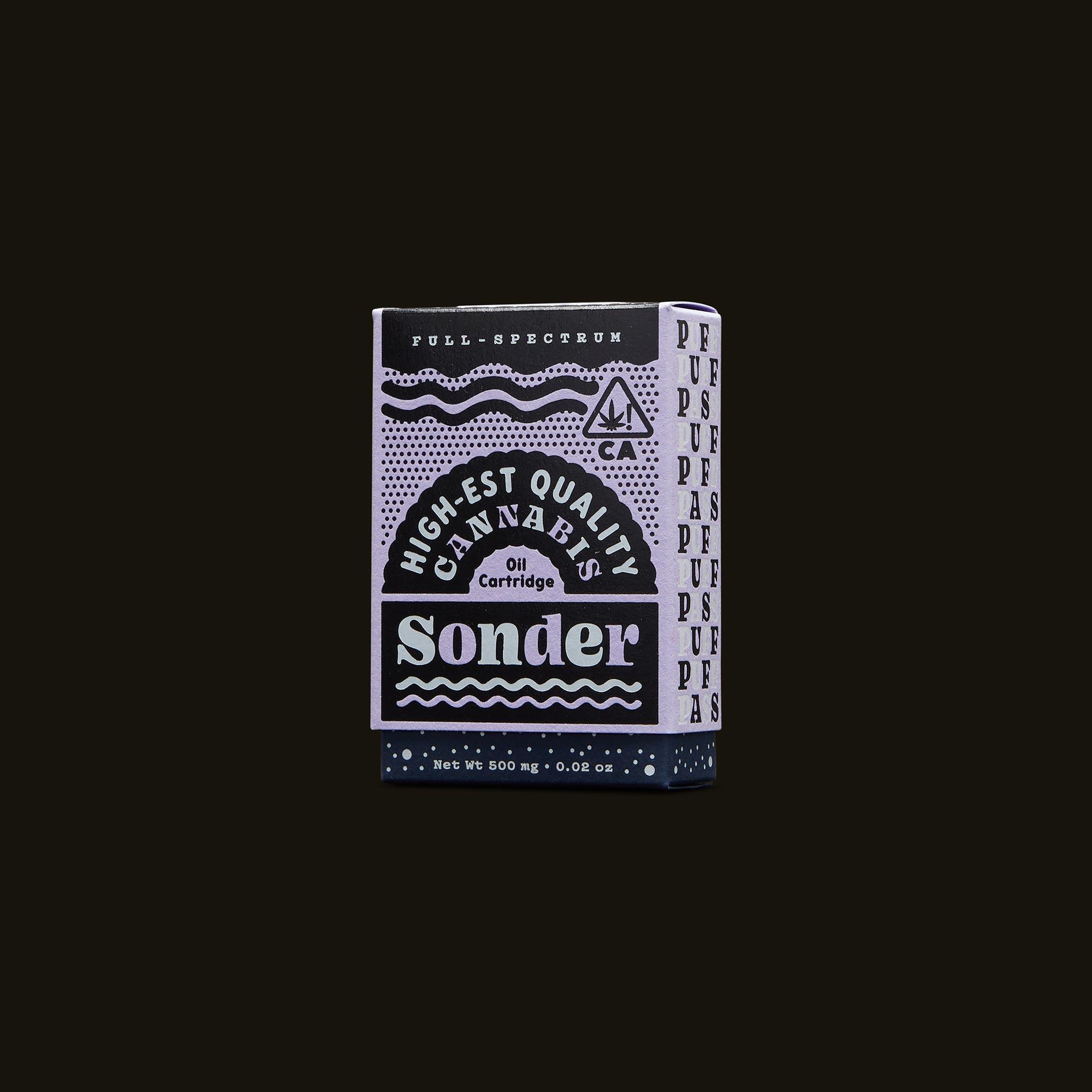 Sonder Vape Pen - Gelato Glue Cartridge