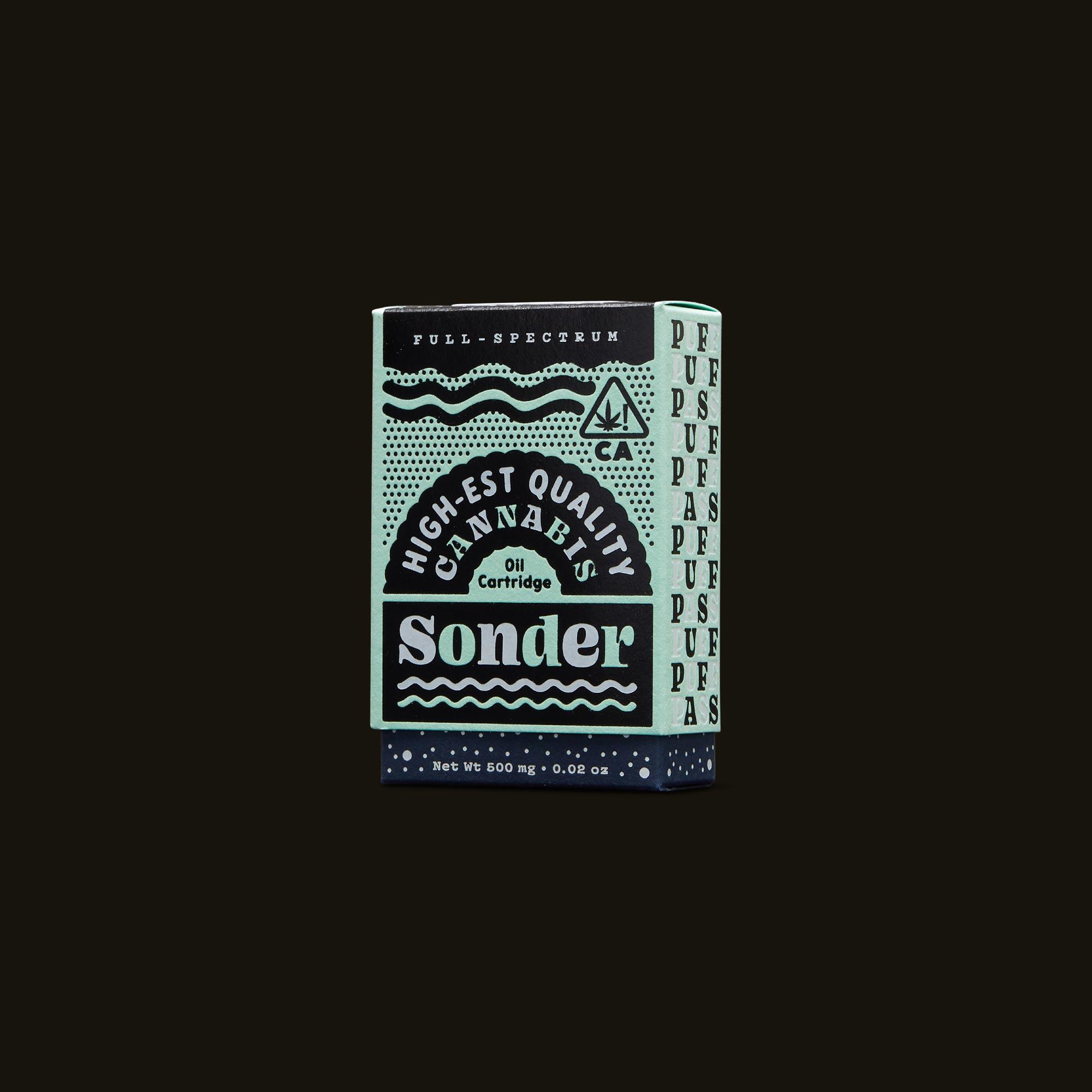 Sonder Vape Pen - Green Crush Cartridge