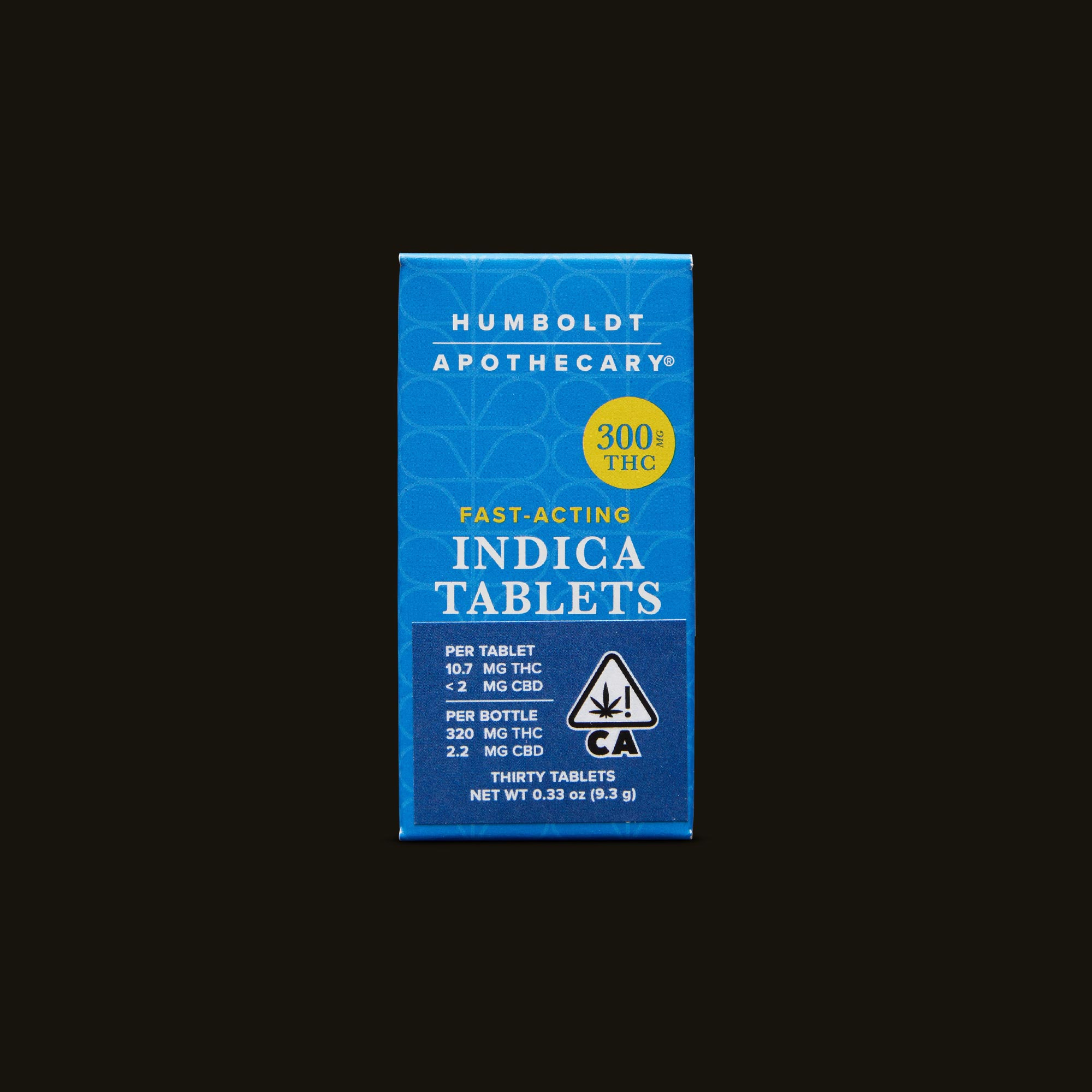 Humboldt Apothecary Indica Tablets Front Packaging