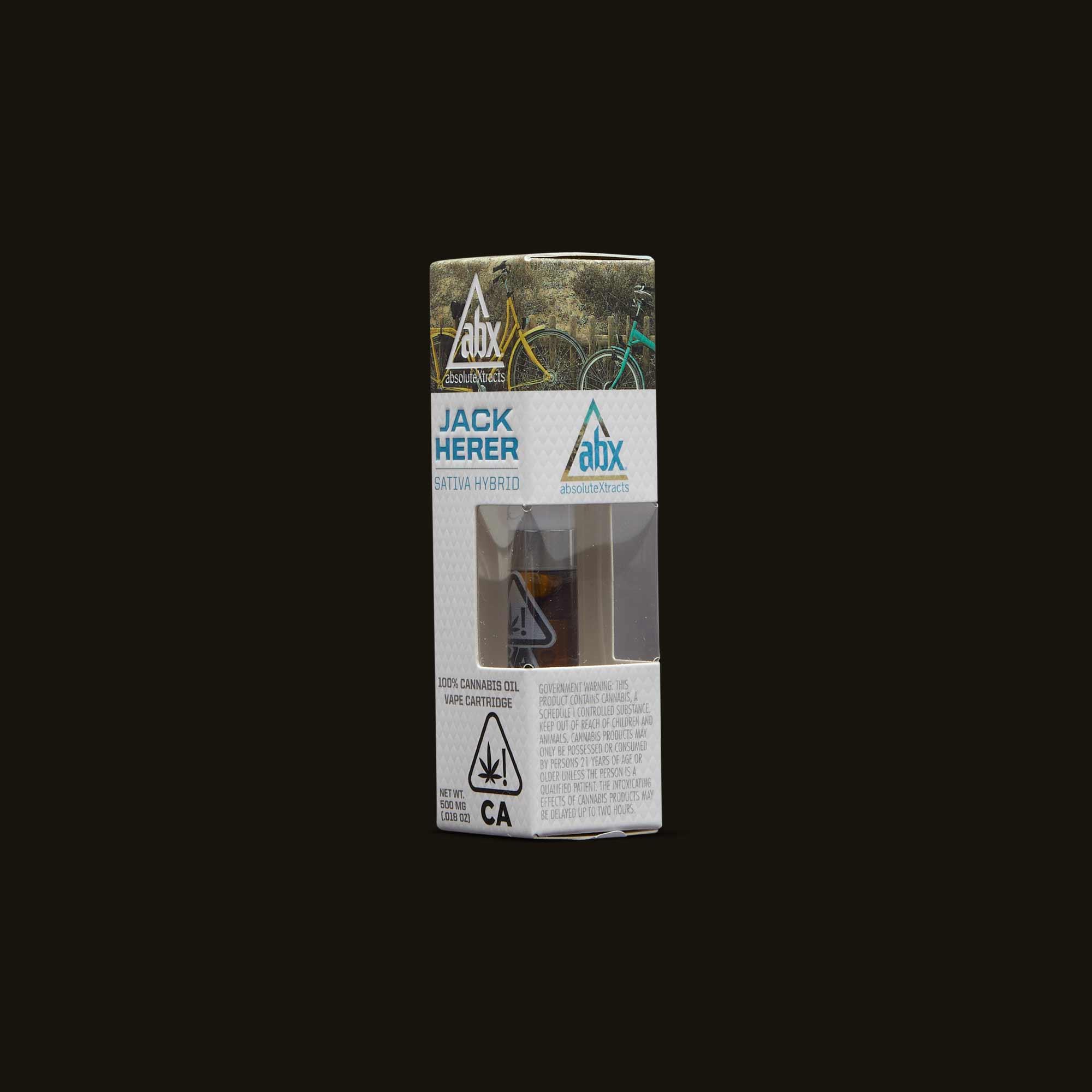 AbsoluteXtracts Vape Pen - Jack Herer Cartridge