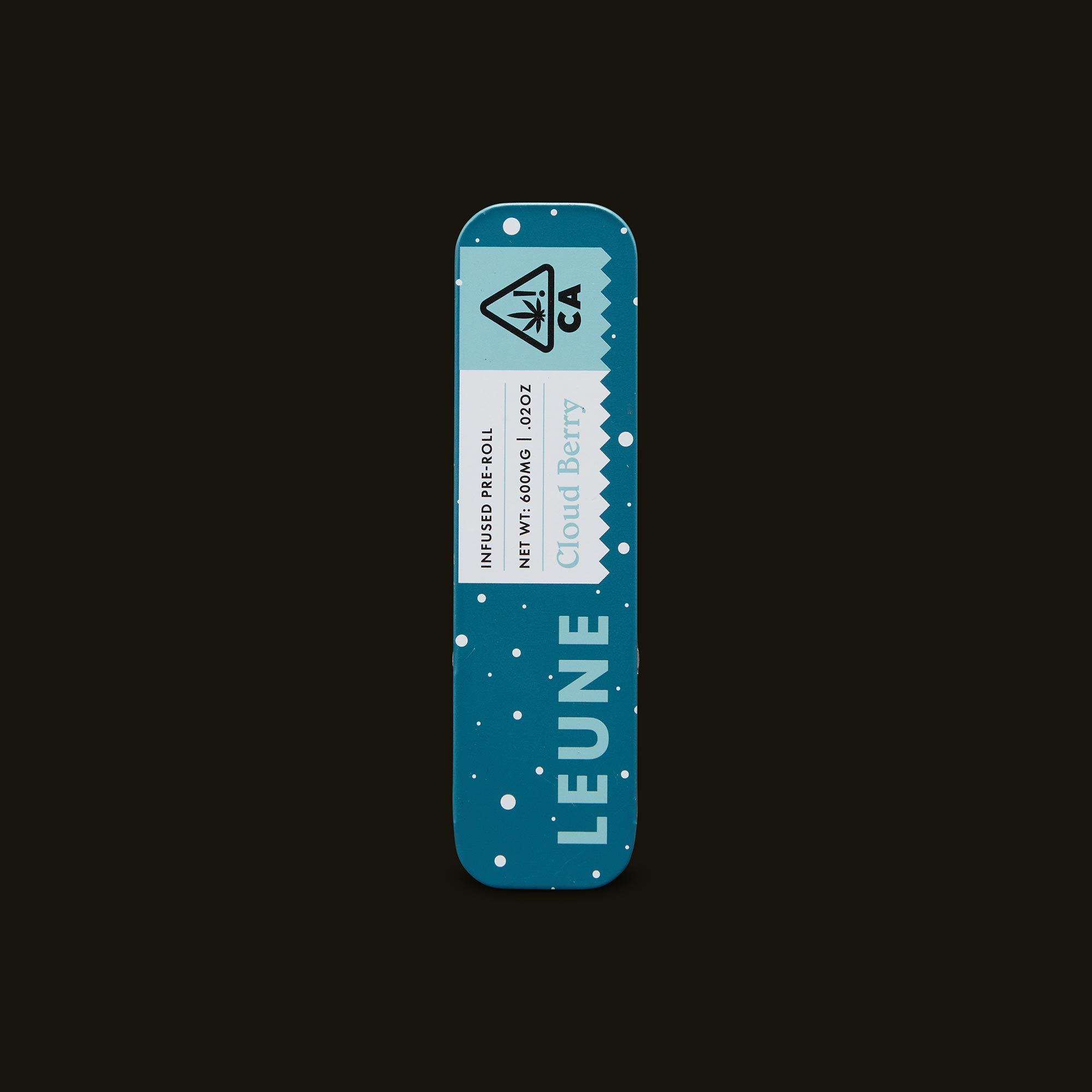 LEUNE Cloud Berry Pre-Roll Front Packaging