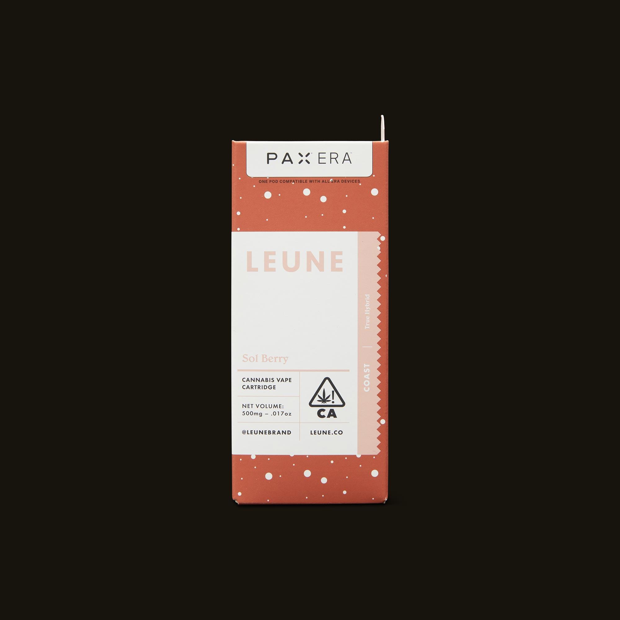 LEUNE Sol Berry PAX Era Pod Front Packaging