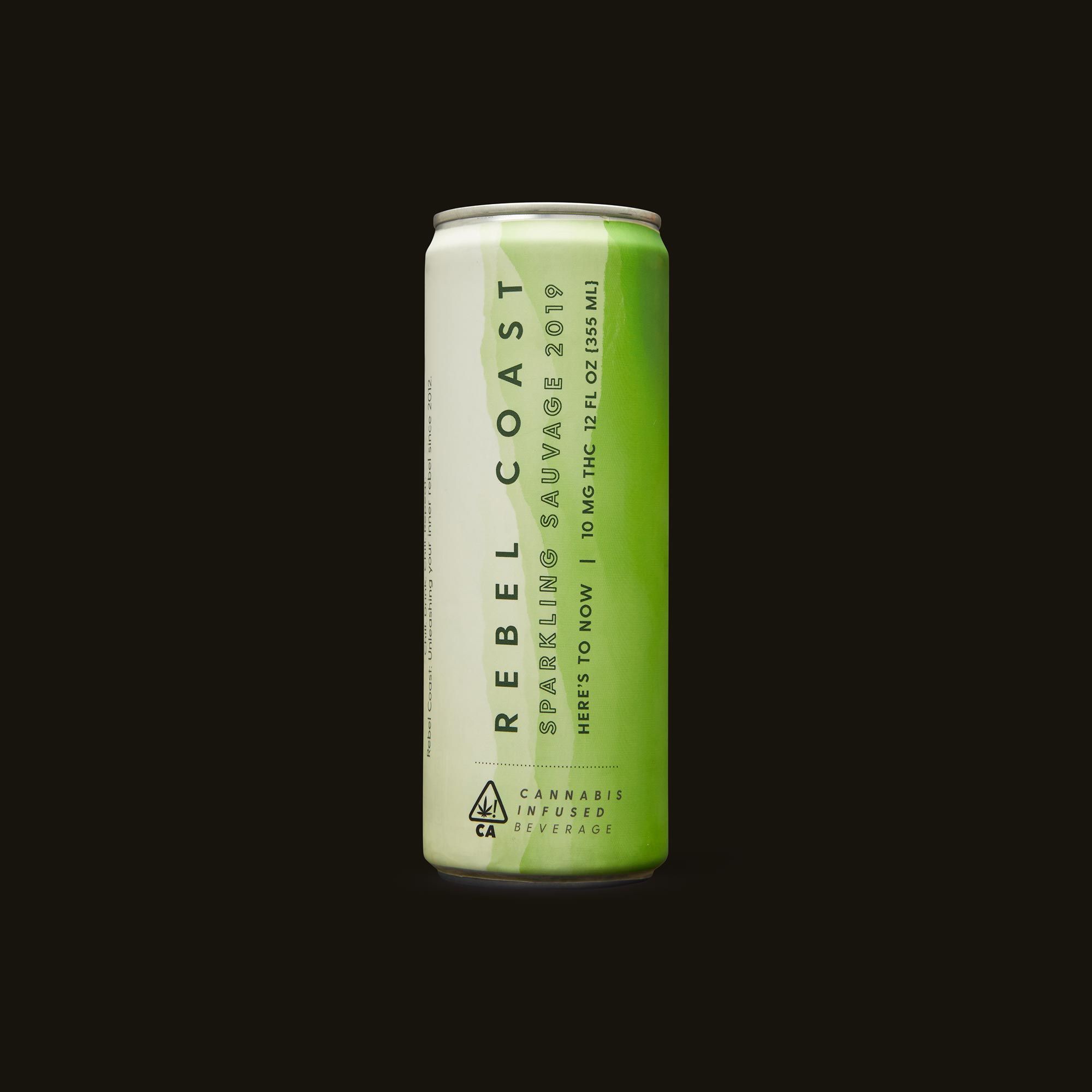 Rebel Coast Sparkling Sauvage Front Can