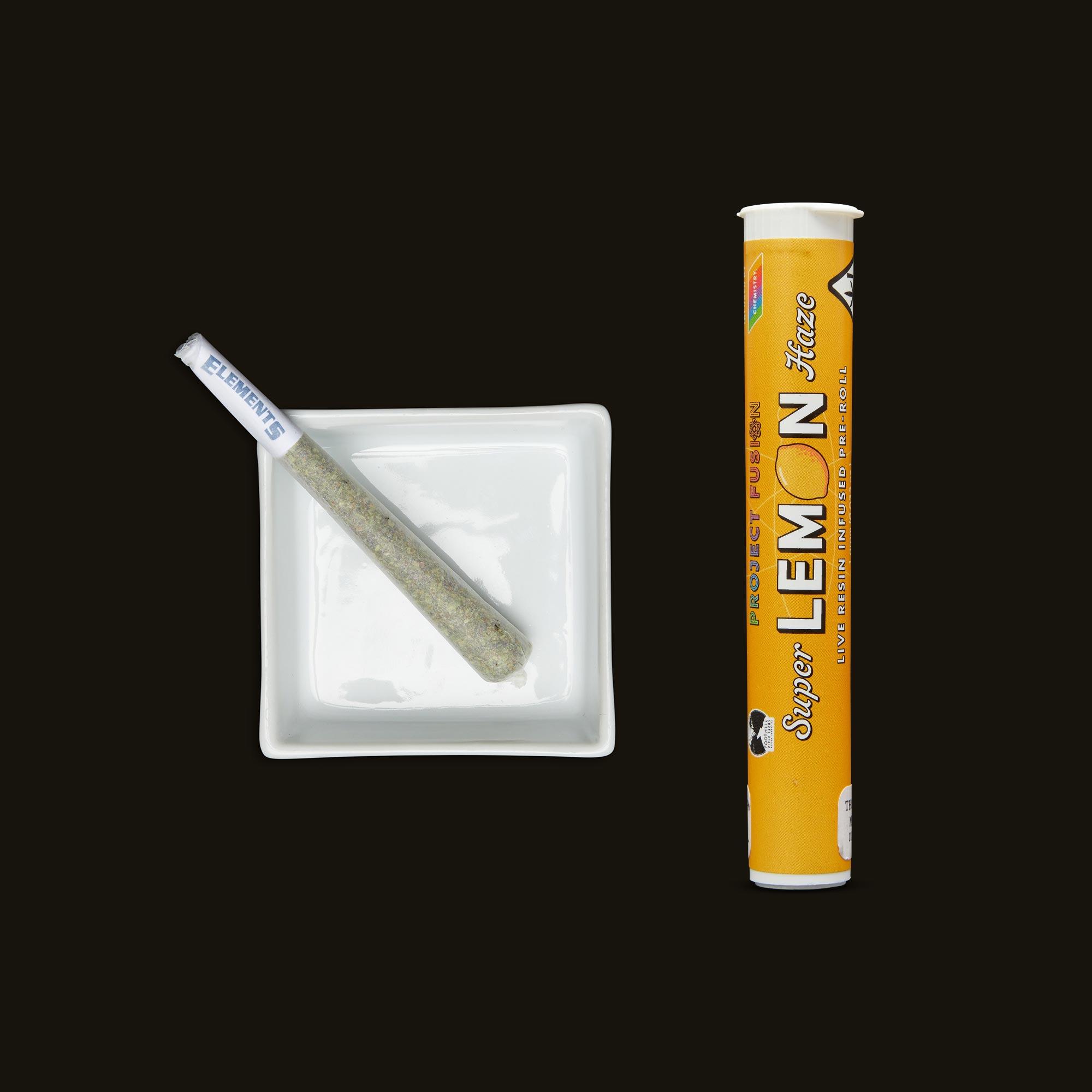Chemistry Super Lemon Haze Live Resin Infused Pre-Roll