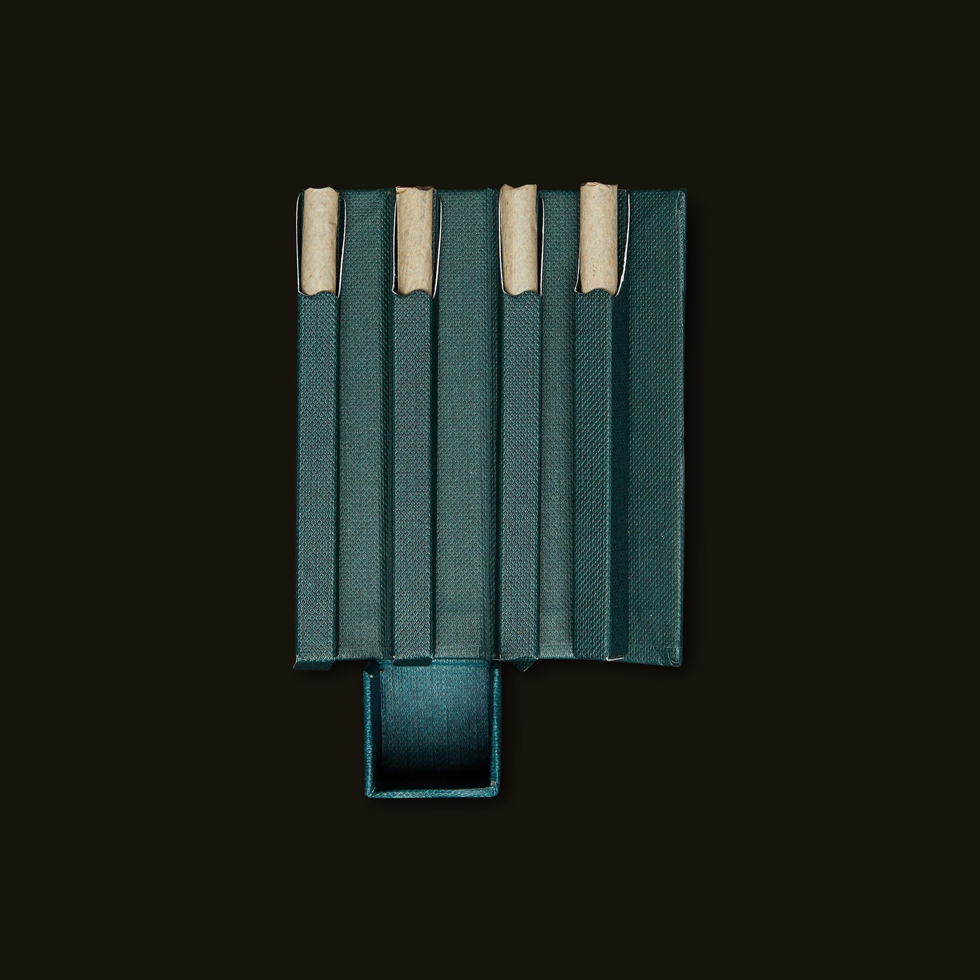 Aura Flare Pre-Rolls Open Packaging