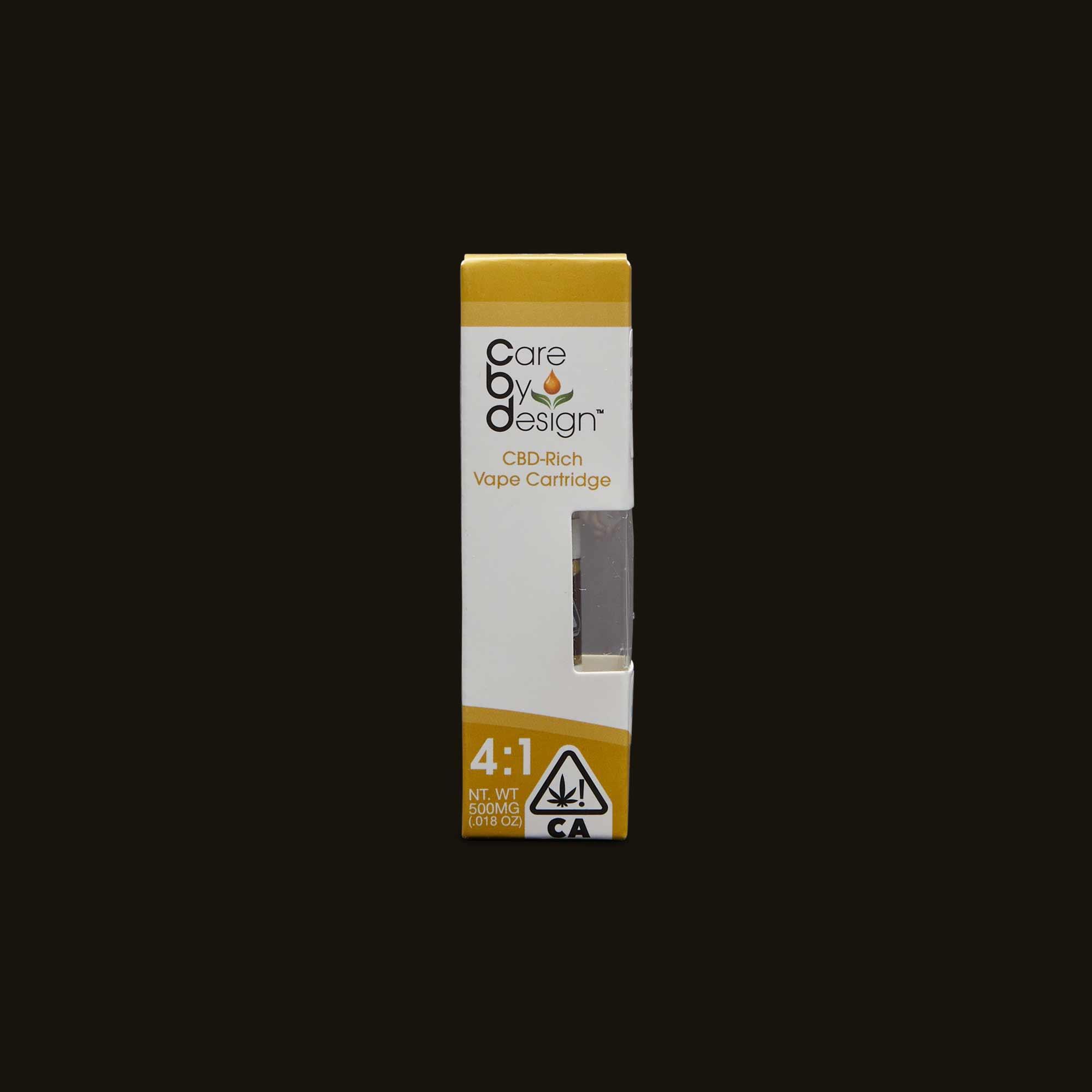 4:1 Vape Cartridge - 500mg cartridge