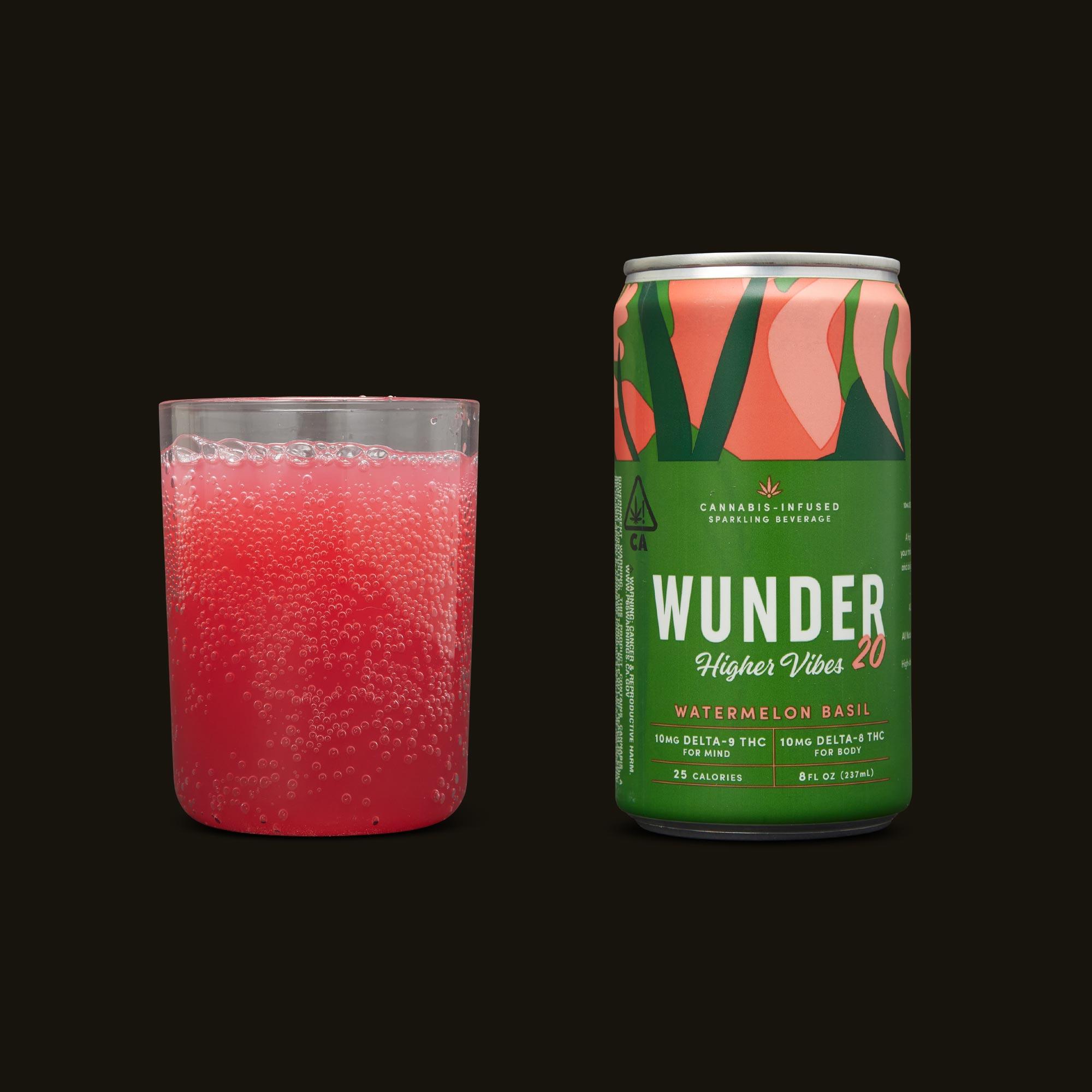 Wunder Watermelon Basil Higher Vibes