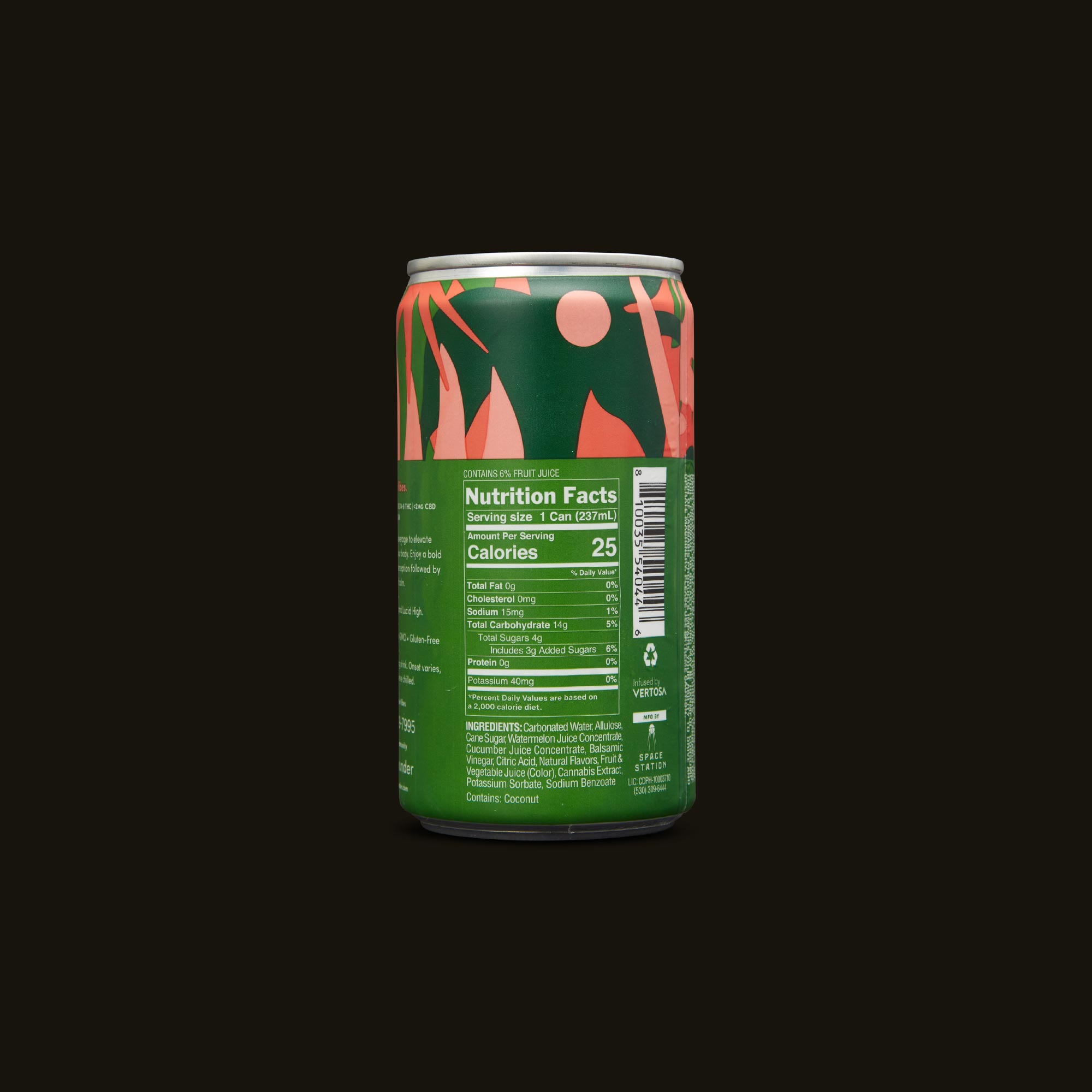 Sodas Beverage by Wunder