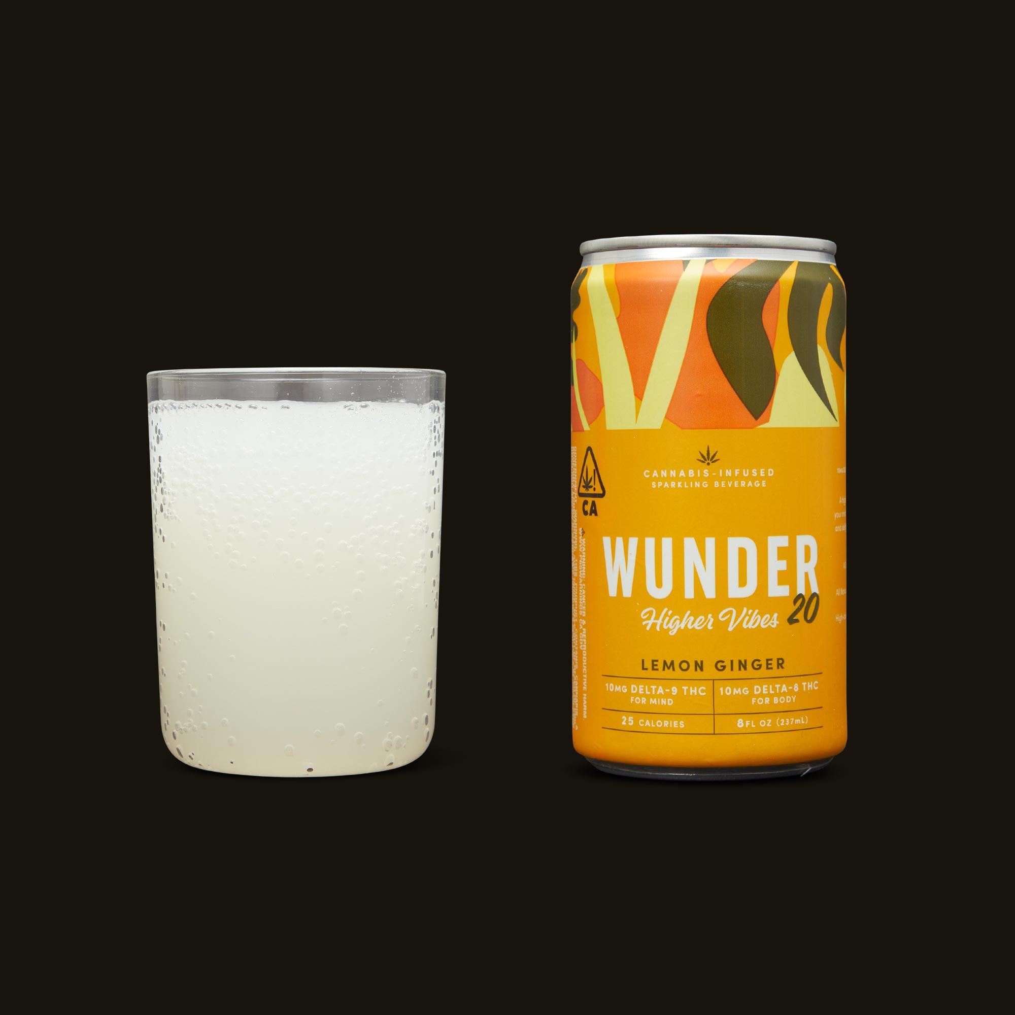 Wunder Lemon Ginger Higher Vibes