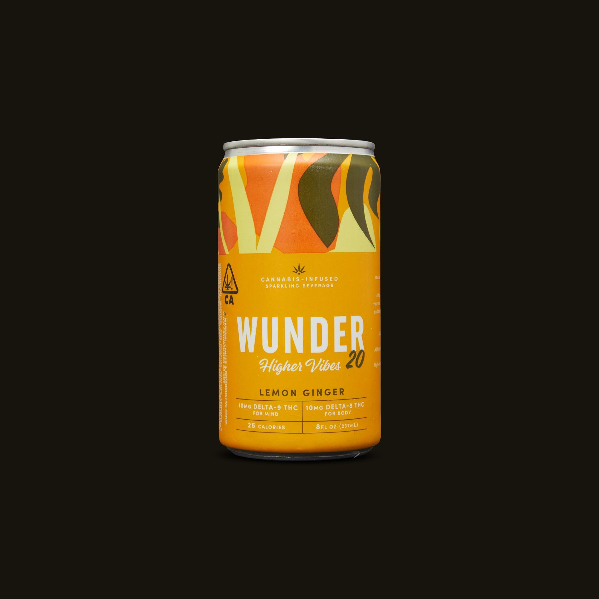 Lemon Ginger Higher Vibes - 1 can