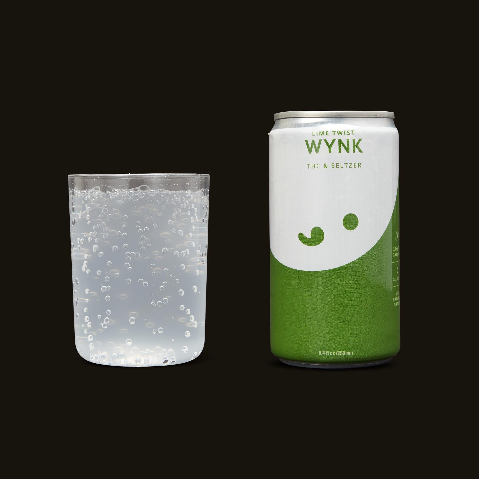 Wynk Lime Twist Seltzer