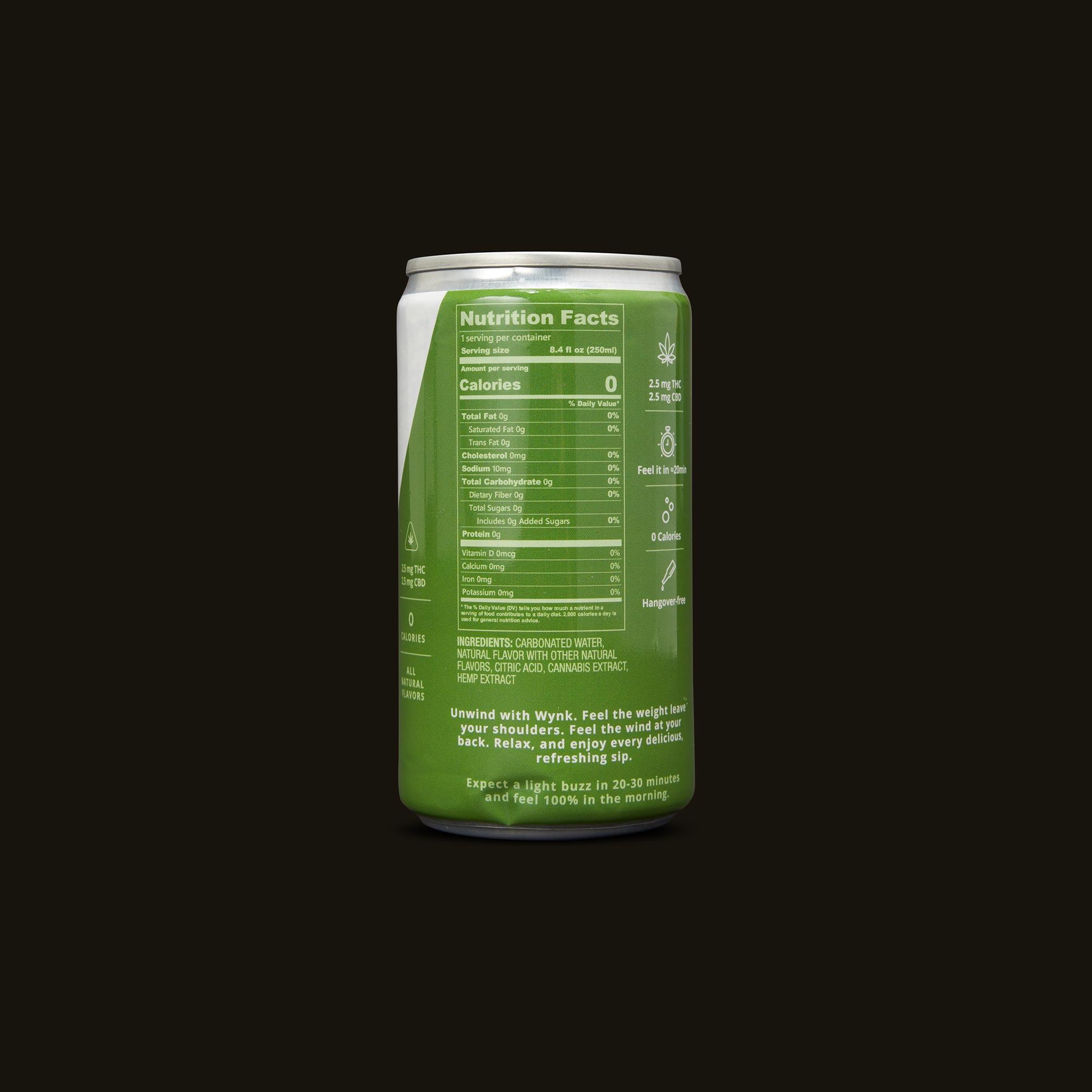 Wynk Beverage - Lime Twist Seltzer
