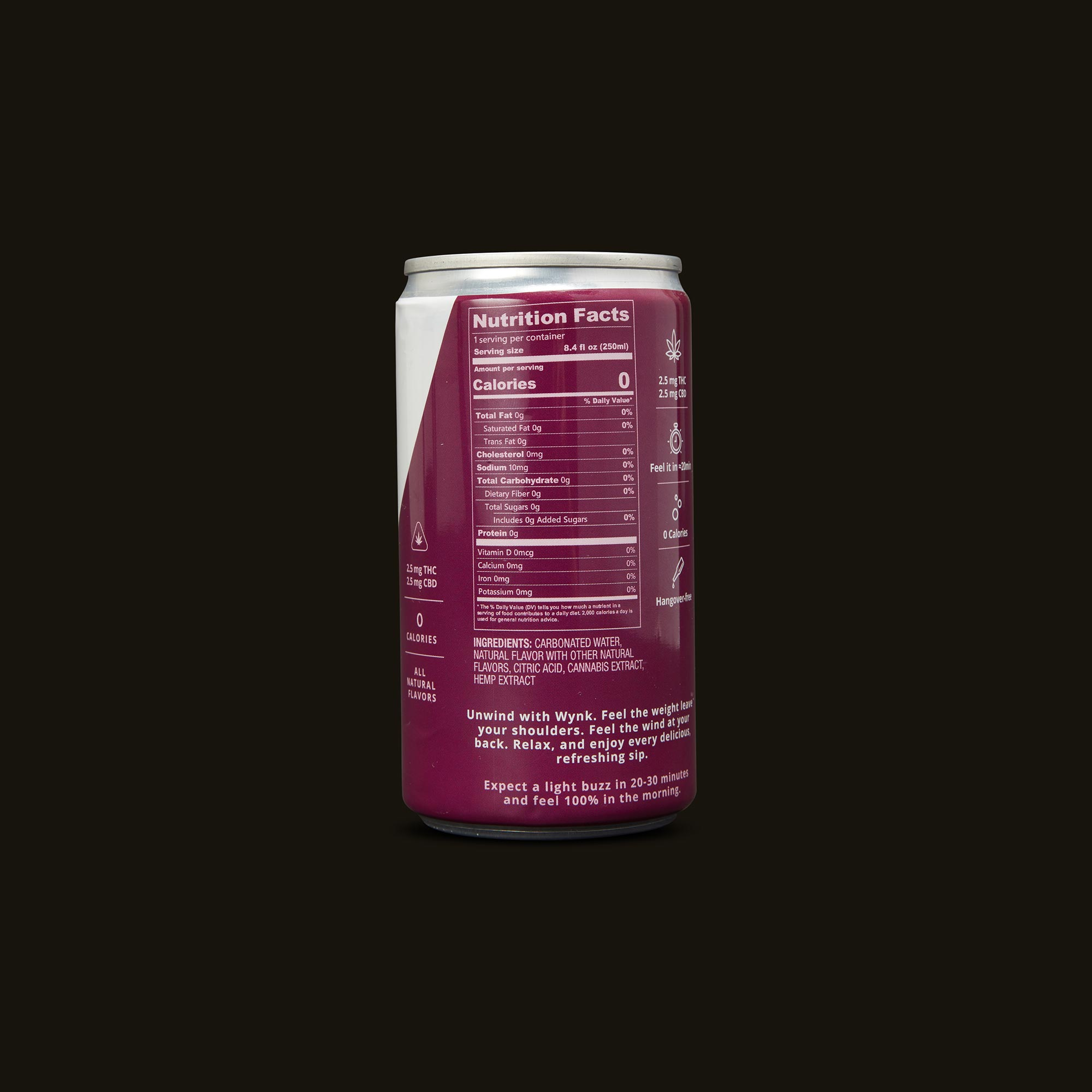 Wynk Beverage - Black Cherry Fizz Seltzer