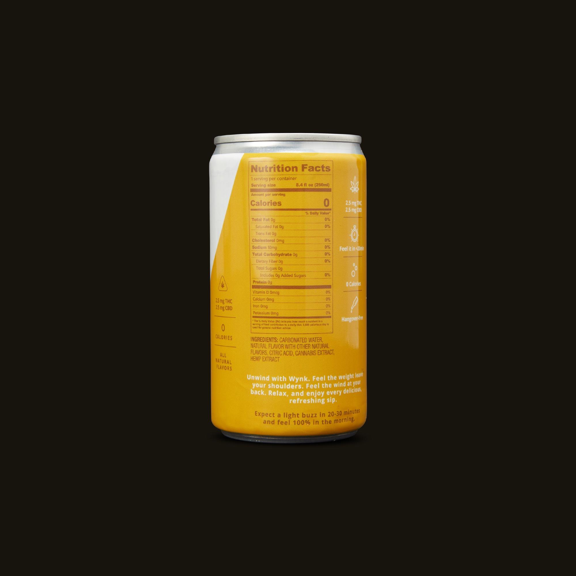 Wynk Beverage - Juicy Mango Seltzer