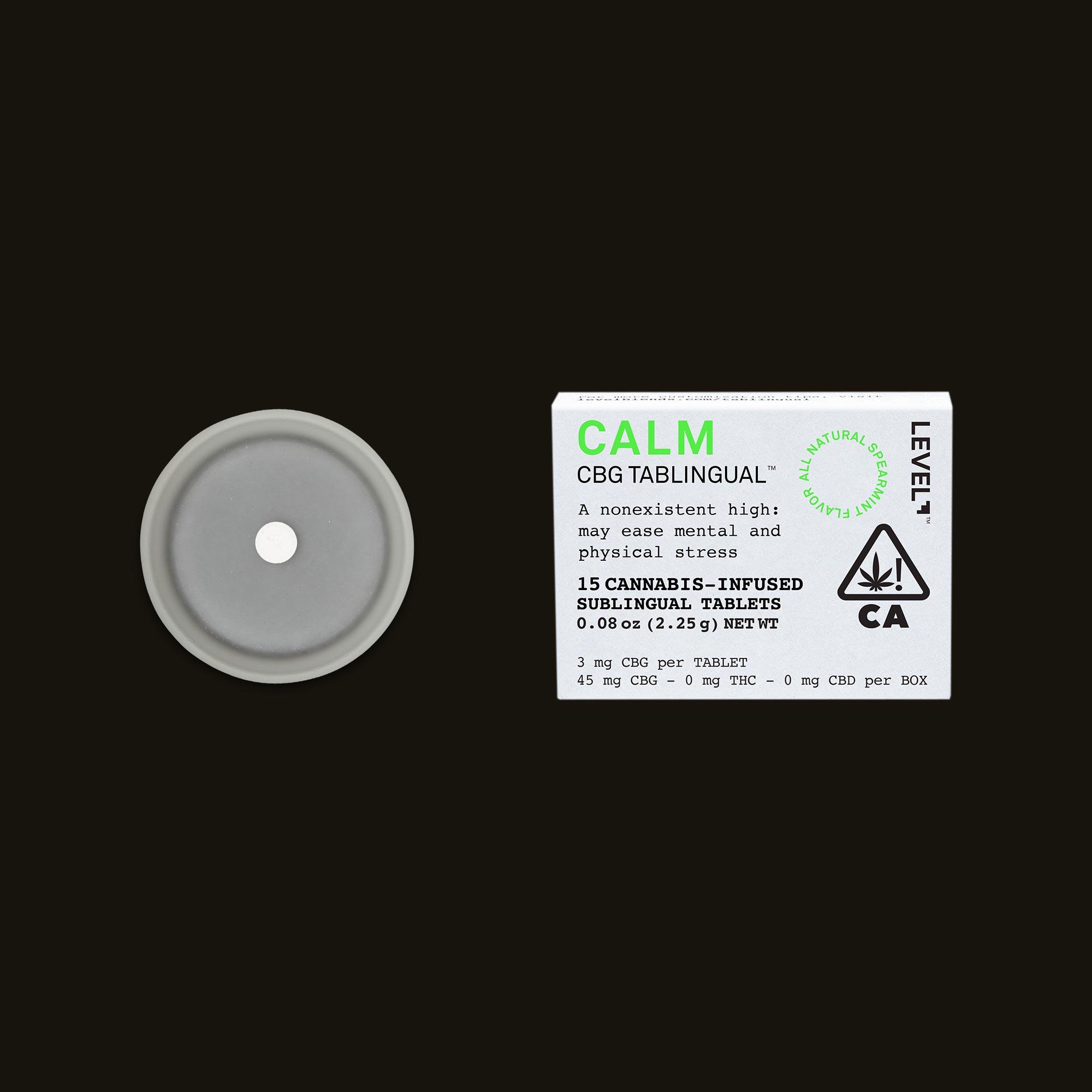 Calm Tablingual by LEVEL