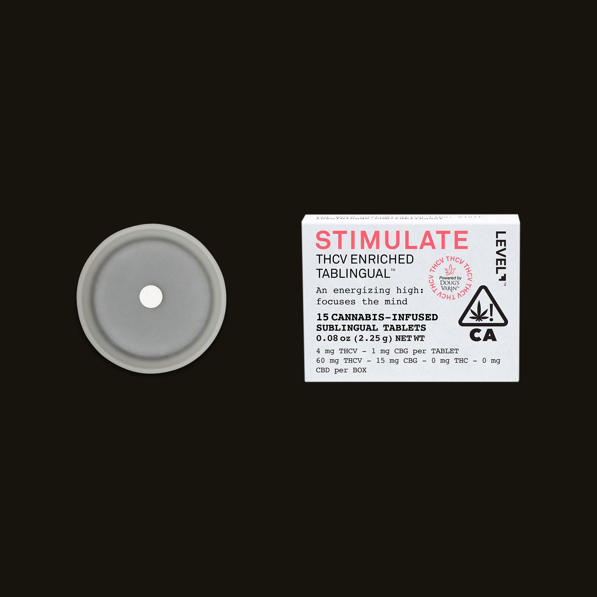 LEVEL Stimulate Tablingual